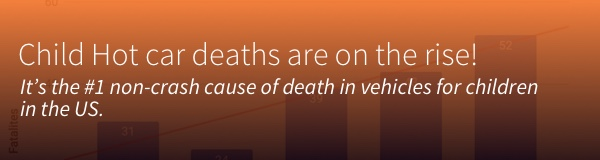Child Hot car deaths are on the rise.